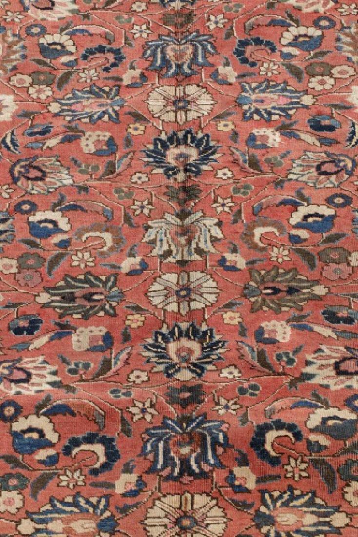 "Hand Woven Persian Tabriz Rug, 8' 1"" x 10' 6' - 2"