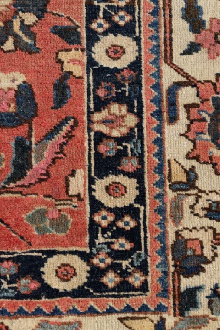"Hand Woven Persian Tabriz Rug, 8' 1"" x 10' 6' - 3"