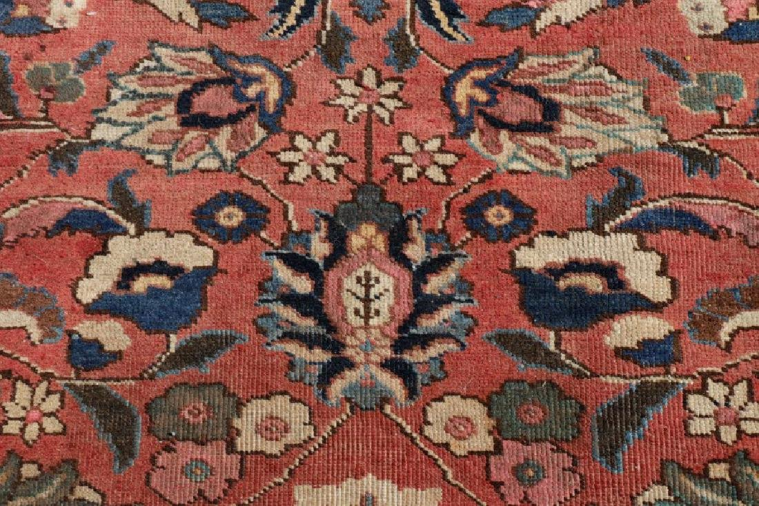 "Hand Woven Persian Tabriz Rug, 8' 1"" x 10' 6' - 4"
