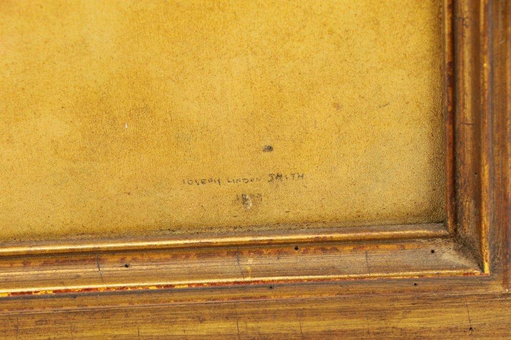 "Joseph Lindon Smith, ""Pharaoh"", Oil on Panel - 6"