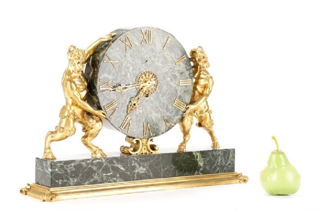 E. F. Caldwell & Co. Ormolu Satyr Mantle Clock - 10
