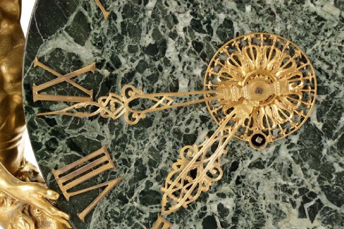 E. F. Caldwell & Co. Ormolu Satyr Mantle Clock - 2