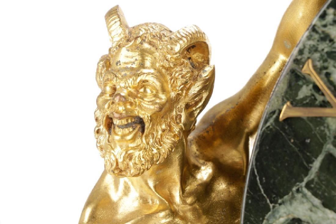 E. F. Caldwell & Co. Ormolu Satyr Mantle Clock - 3