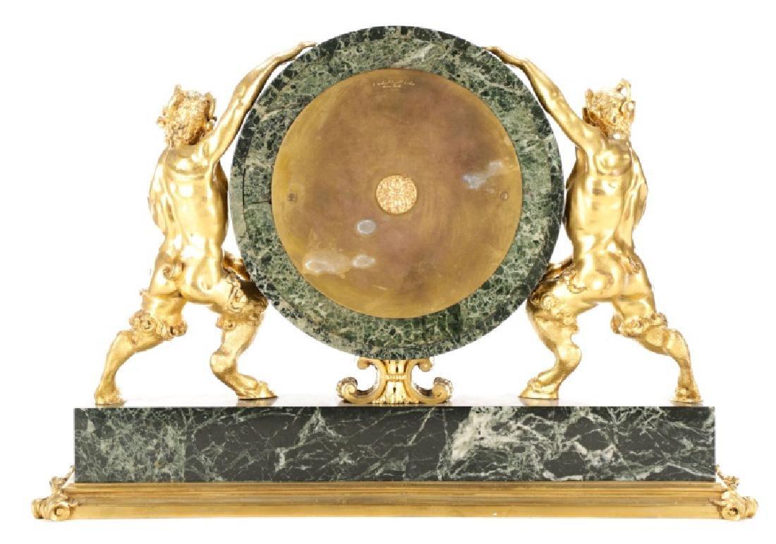 E. F. Caldwell & Co. Ormolu Satyr Mantle Clock - 5