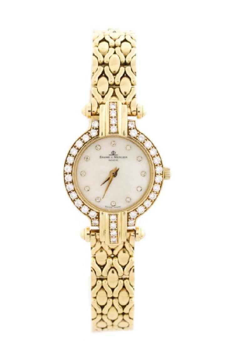 Baume & Mercier Ladies Diamond Dress Watch