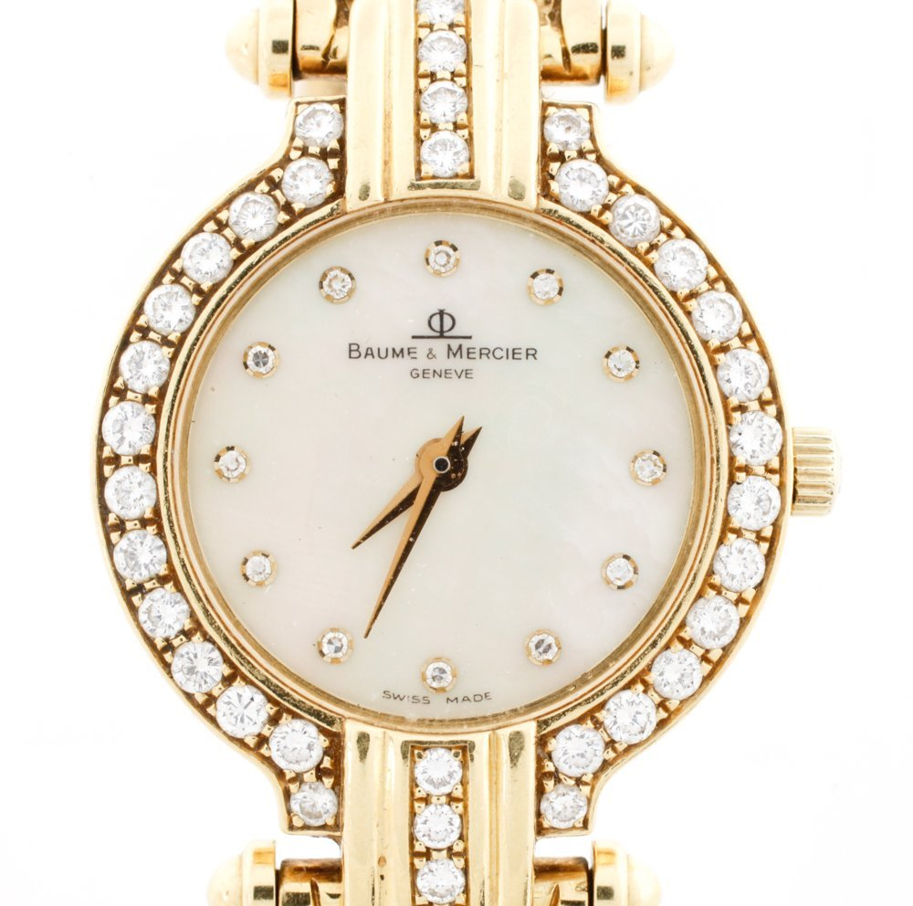 Baume & Mercier Ladies Diamond Dress Watch - 2