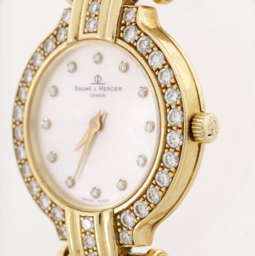 Baume & Mercier Ladies Diamond Dress Watch - 3
