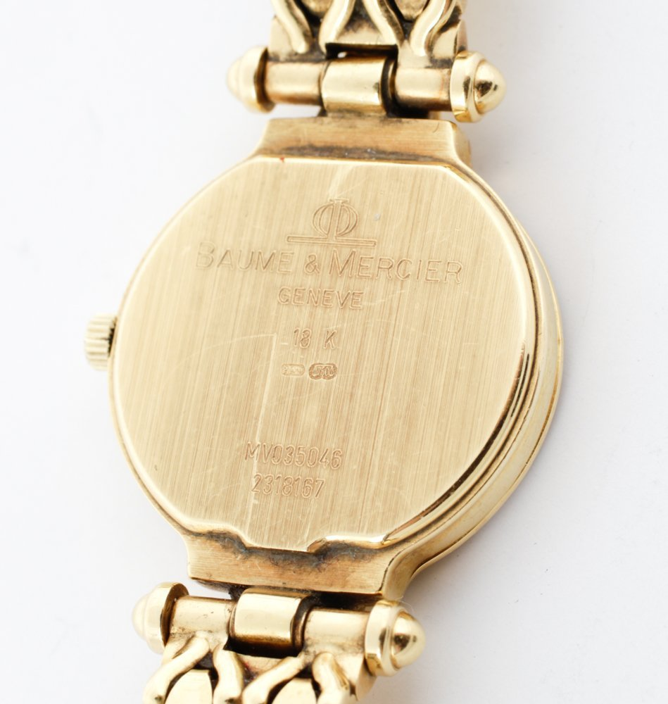 Baume & Mercier Ladies Diamond Dress Watch - 5