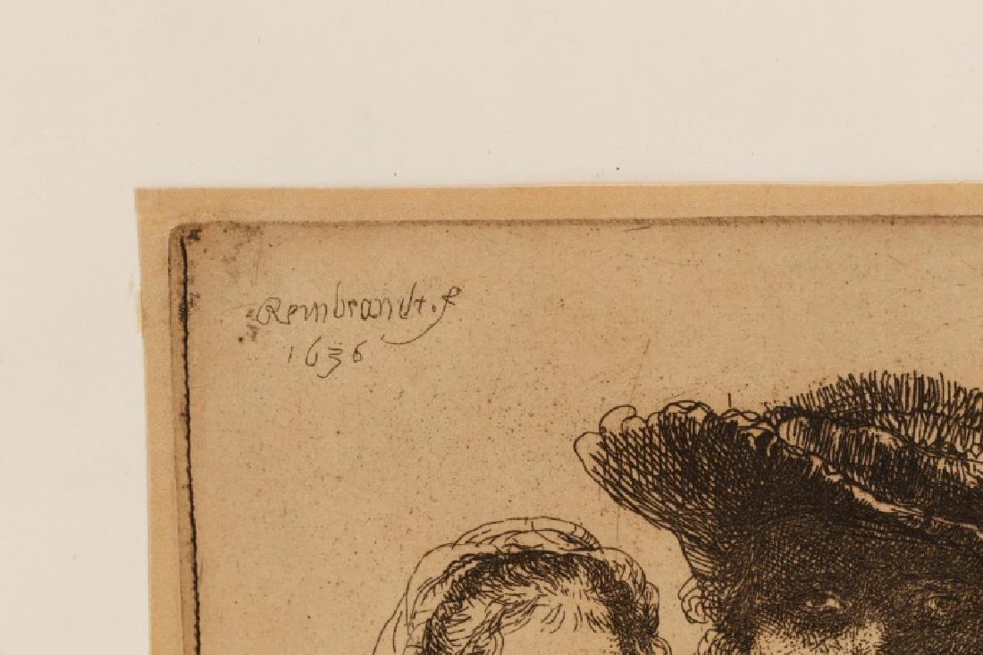 "Rembrandt van Rijn, ""Self Portrait with Saskia"" - 2"