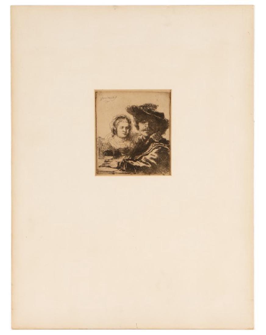"Rembrandt van Rijn, ""Self Portrait with Saskia"" - 3"