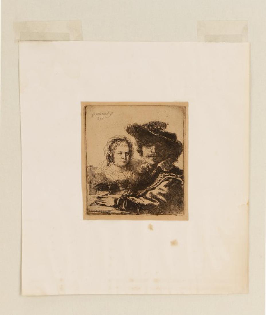 "Rembrandt van Rijn, ""Self Portrait with Saskia"" - 4"