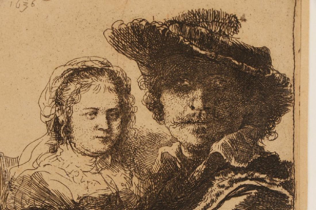 "Rembrandt van Rijn, ""Self Portrait with Saskia"" - 5"