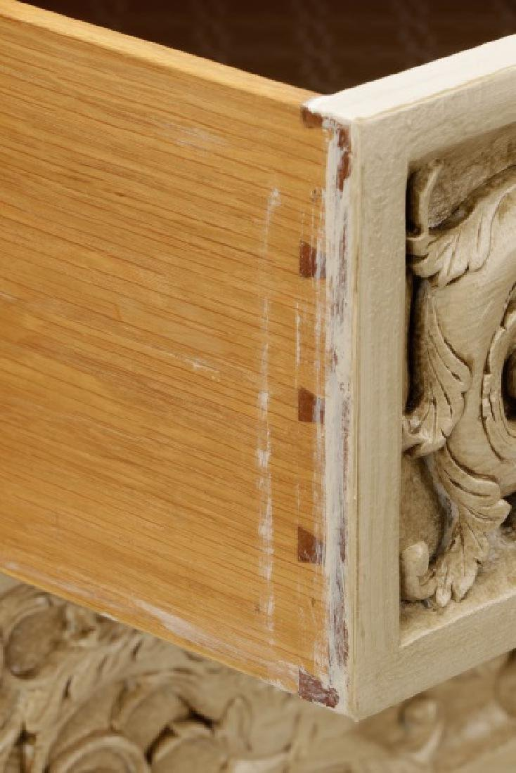 Modern History Renaissance Style Carved Chest - 5