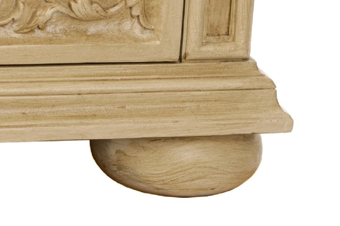 Modern History Renaissance Style Carved Chest - 6