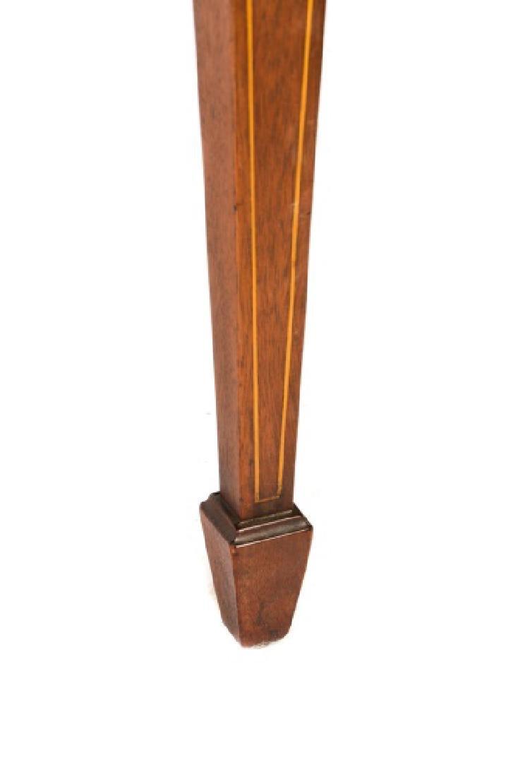 12 Mahogany Hepplewhite Style Dining Chairs - 6