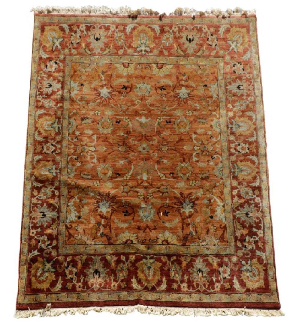 "Hand Woven Agra Area Rug, 8' 2"" x 10"""