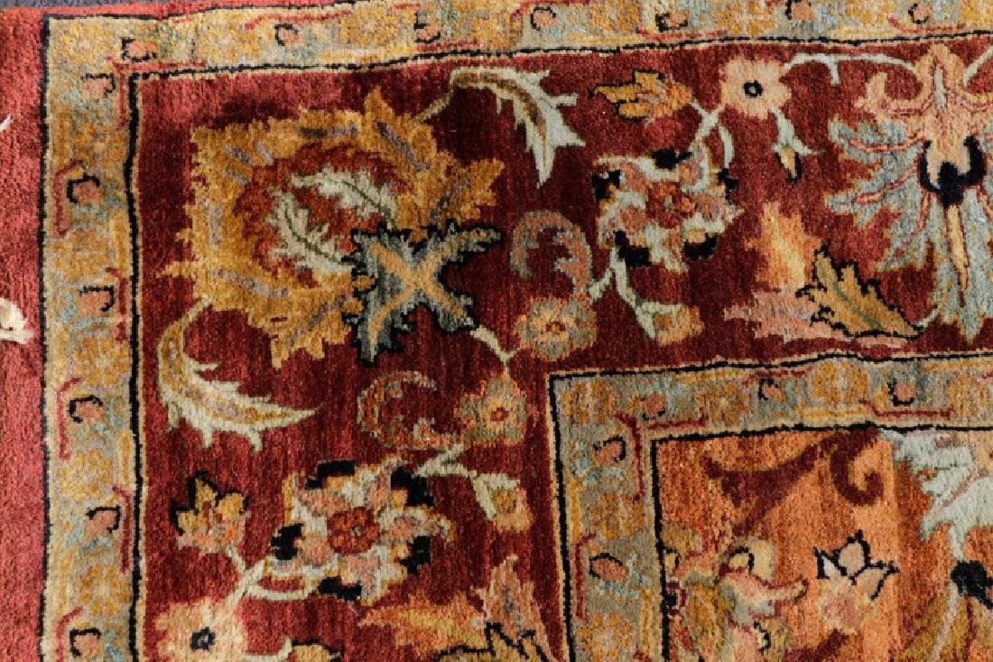"Hand Woven Agra Area Rug, 8' 2"" x 10"" - 4"