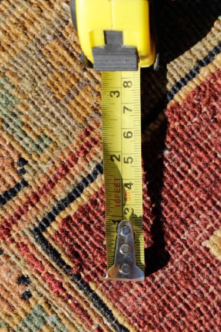 "Hand Woven Agra Area Rug, 8' 2"" x 10"" - 6"