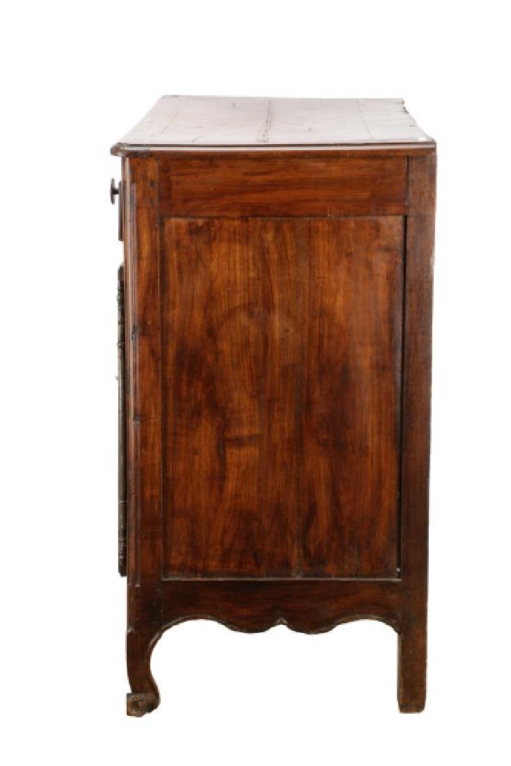 Carved French Provincial Walnut Chest - 10