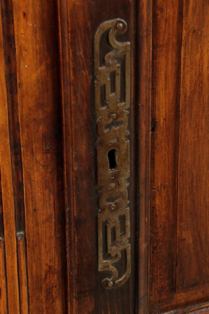 Carved French Provincial Walnut Chest - 4