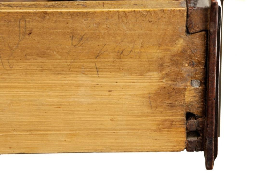 Carved French Provincial Walnut Chest - 6