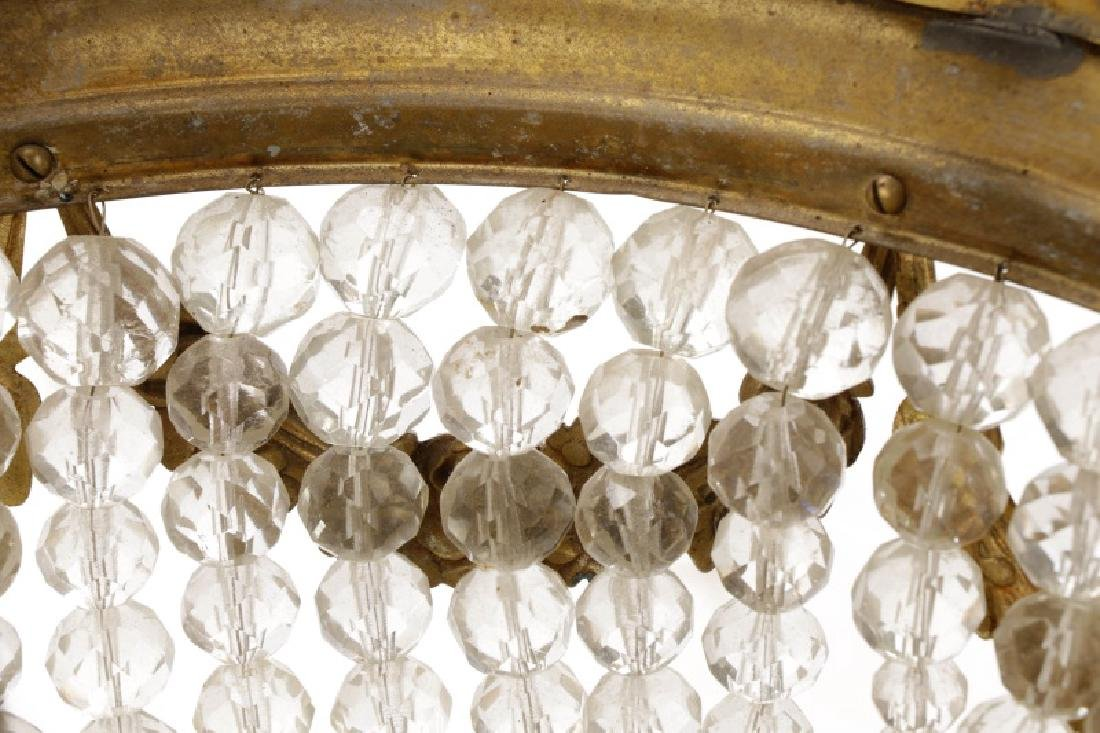 French Empire Style Basket Chandelier - 4