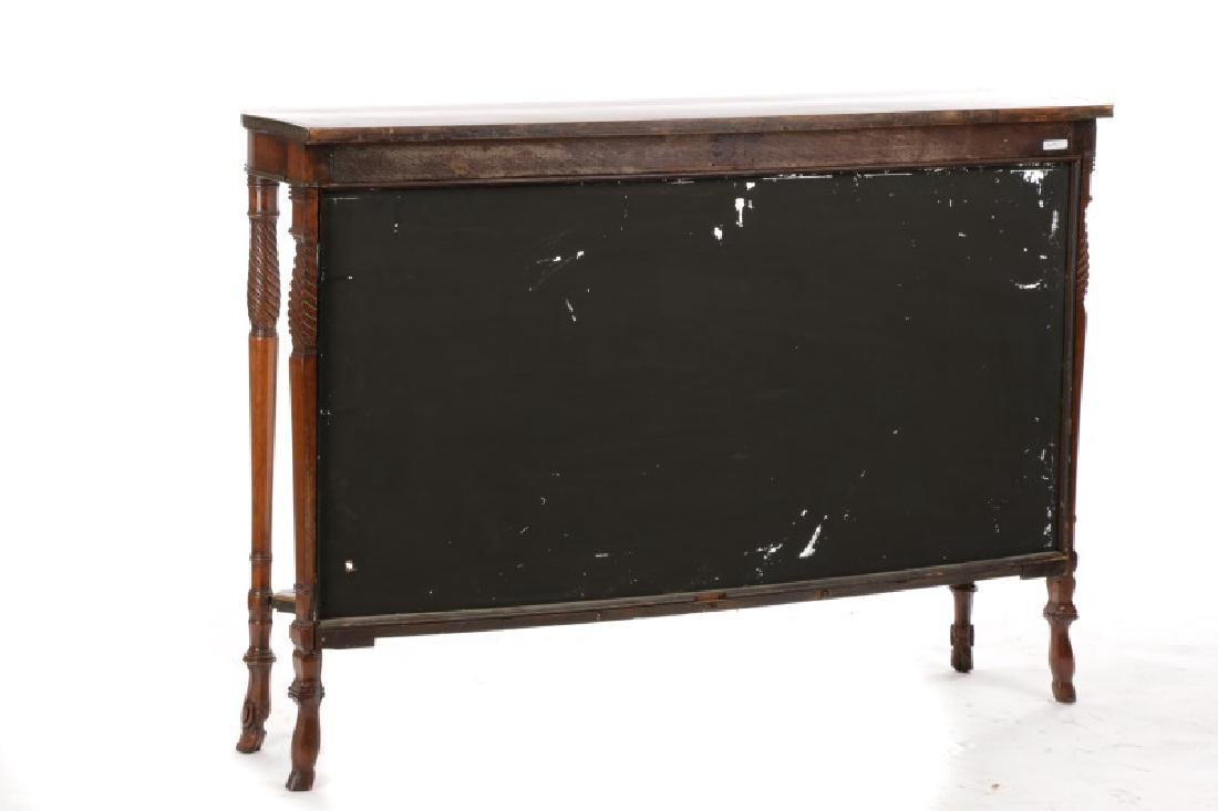 Neoclassical Style Rosewood & Brass Pier Table - 7