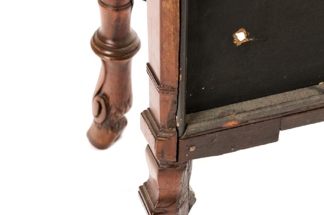 Neoclassical Style Rosewood & Brass Pier Table - 8