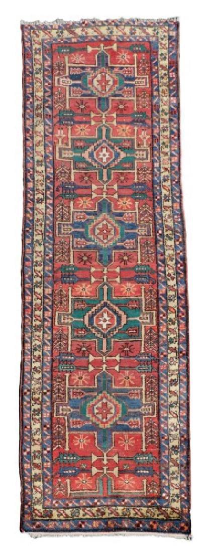 Hand Woven Persian Heriz Area Runner