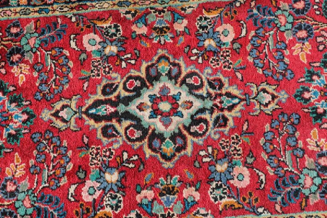 "Hand Woven Persian Hamedan Runner, 2' 8"" x 13' 1"" - 3"