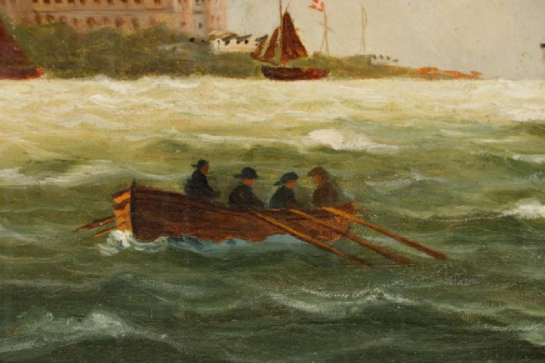 "Nicoline Holm, ""Ship Under Tumultuous Skies""-1908 - 3"