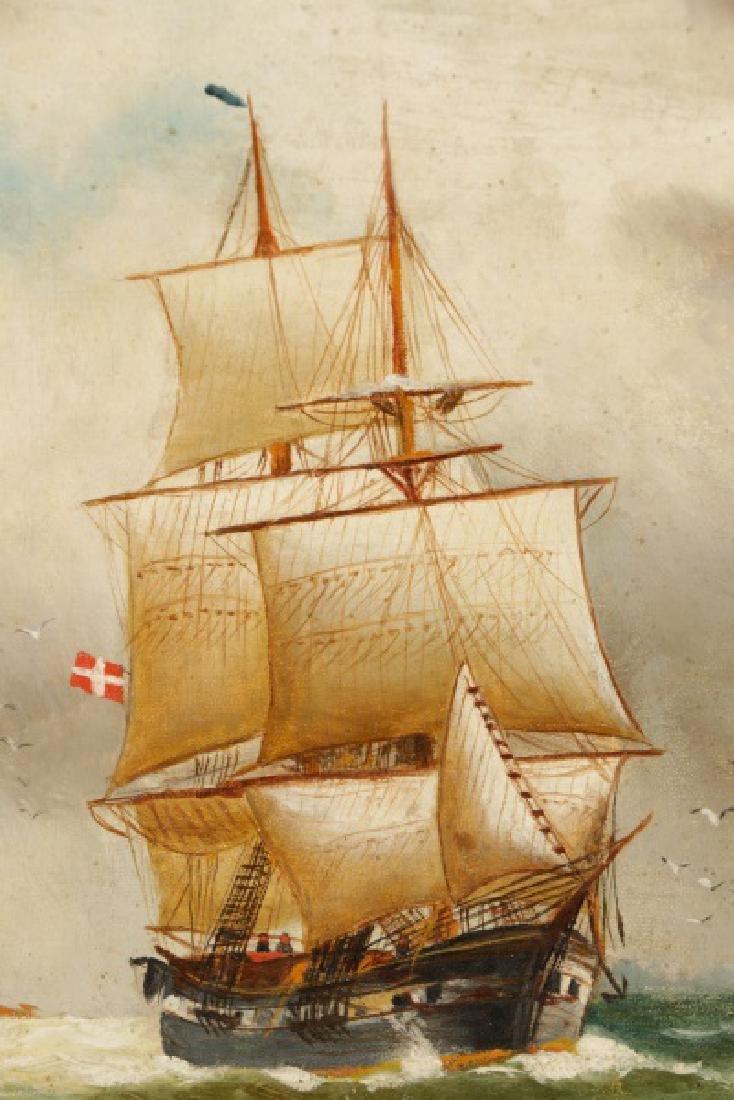 "Nicoline Holm, ""Ship Under Tumultuous Skies""-1908 - 4"