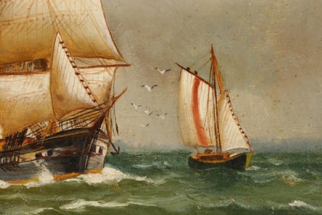 "Nicoline Holm, ""Ship Under Tumultuous Skies""-1908 - 5"