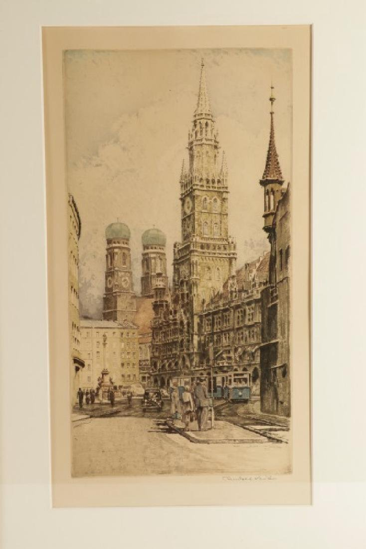 Collection of 2 Rudolf Veit Etchings with Aquatint - 6
