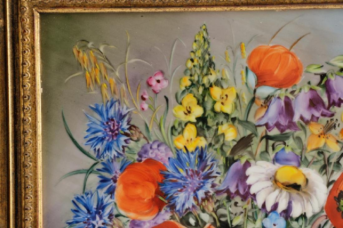 Hand Painted Rosenthal Porcelain Plaque, Signed - 2