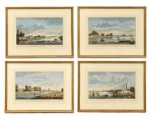 Collection of 4 Views of England by John Boydell