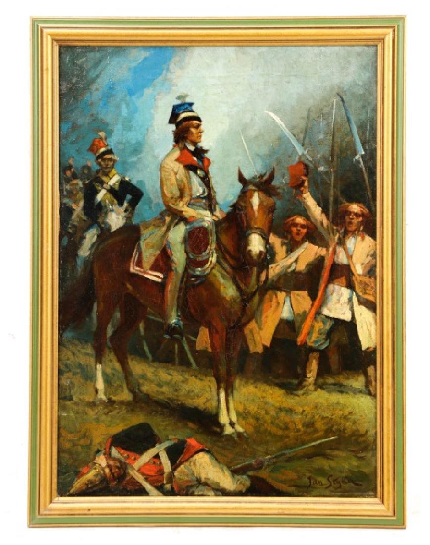 """Polish School, """"Convoise de l'armée Hongroise"""""""