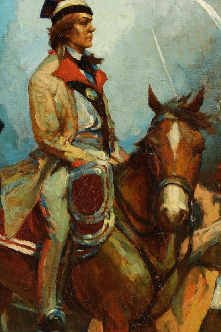 """Polish School, """"Convoise de l'armée Hongroise"""" - 6"""