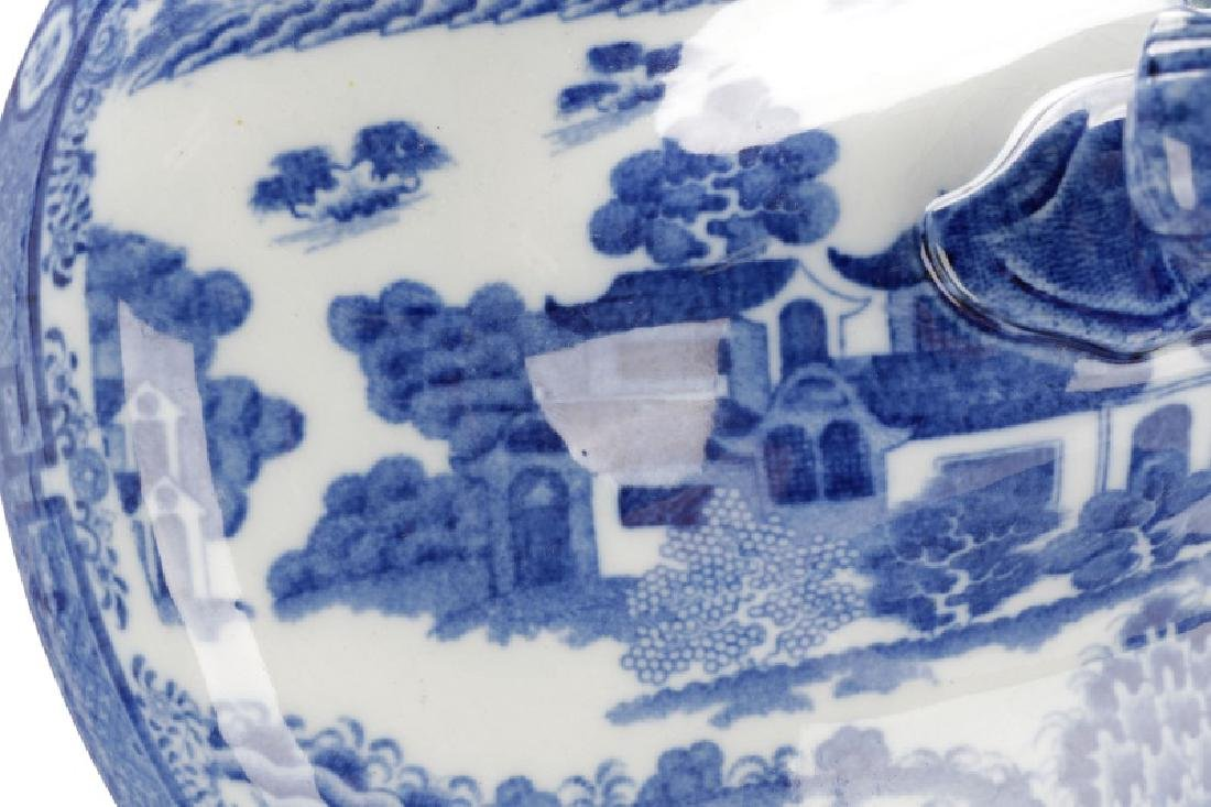 Spode Pearlware Hash Dish and Serving Dish - 5