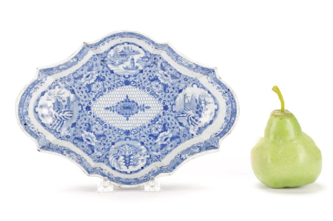 Spode Pearlware Hash Dish and Serving Dish - 7
