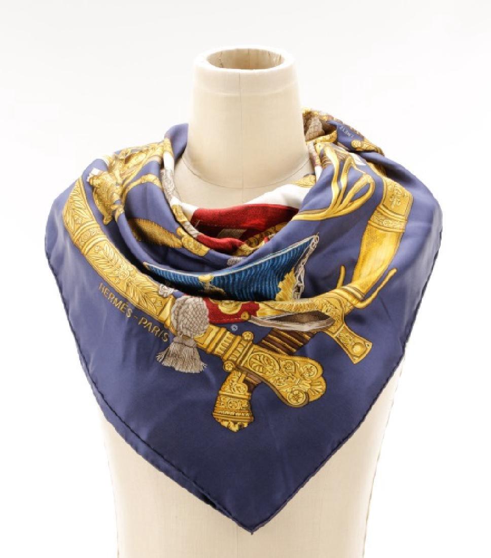 "Hermes ""Grand Uniforme"" Silk Scarf"