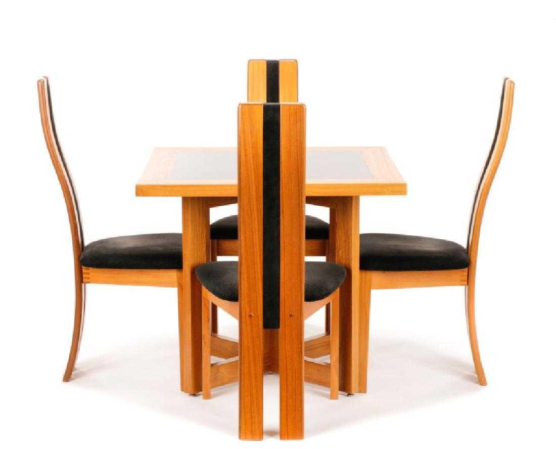 7edd9b06f86ef Danish Modern Vamdrup Stolefabrik Dining Set