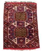 "Hand Woven Persian Tribal Rug 2' 8"" x 4' 1"""