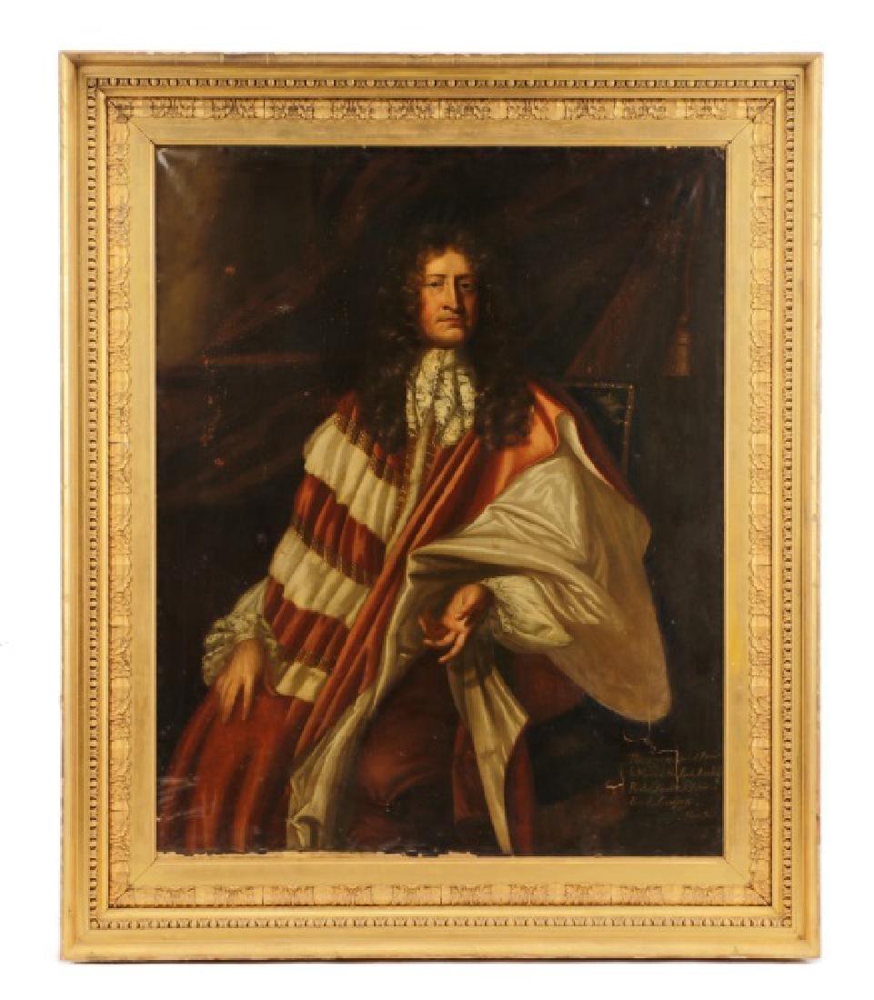 "Attr. Thomas Gibson, ""Portrait of Thomas Savage"""