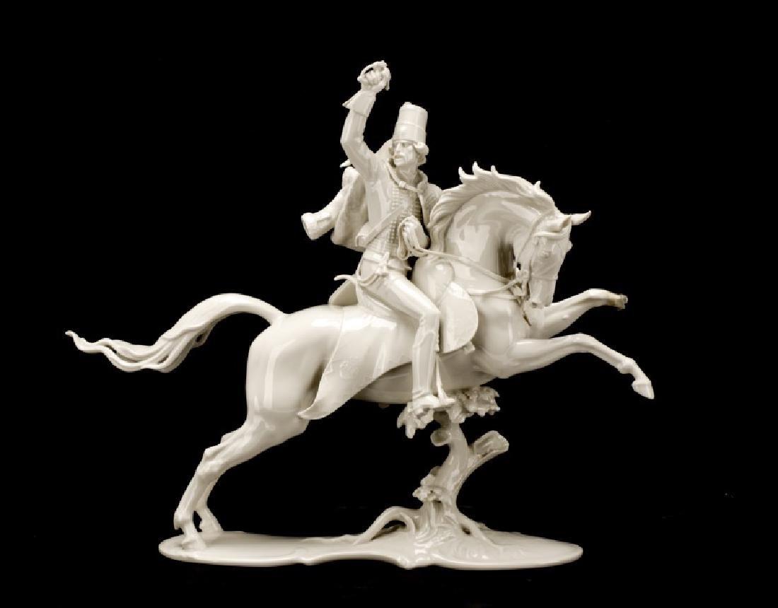 Theodor Karner Malachowski Hussar Figurine