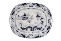 Imperial Stone Mooltan Ironstone Platter