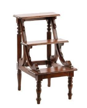 American Rococo Revival Library Steps