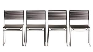 4 Giandomenico Belotti FlyLine Spaghetti Chairs