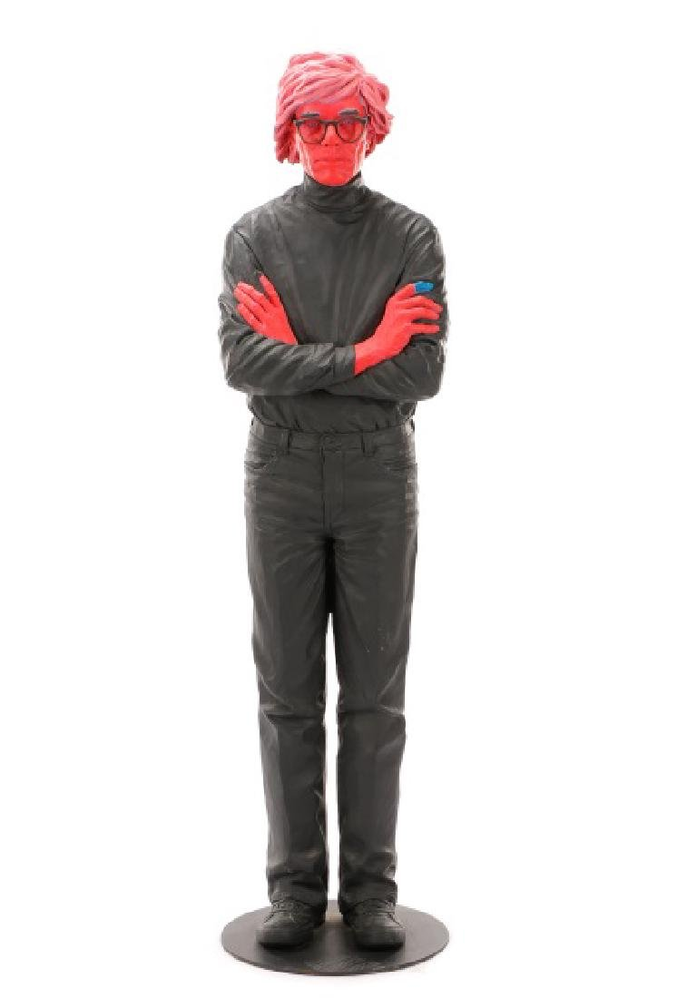 "Jack Dowd, ""Pink Andy,"" Lifesize Sculpture, 2005"