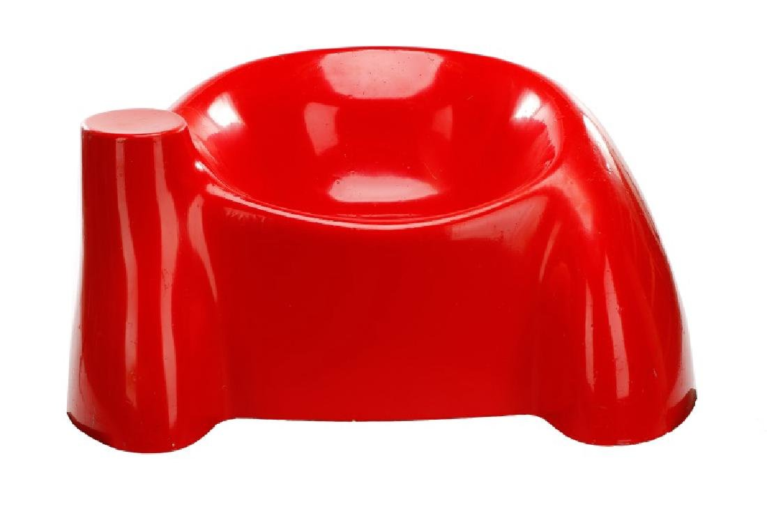 Wendell Castle Red Castle Chair